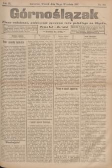 Górnoślązak : pismo codzienne, poświęcone sprawom ludu polskiego na Sląsku.R.3, nr 216 (20 września 1904)