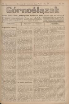 Górnoślązak : pismo codzienne, poświęcone sprawom ludu polskiego na Sląsku.R.3, nr 236 (13 października 1904)