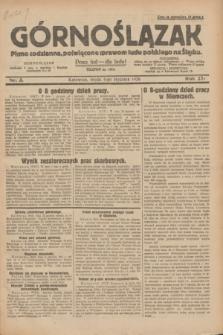 Górnoślązak : pismo codzienne, poświęcone sprawom ludu polskiego na Śląsku.R.27, nr 3 (4 stycznia 1928) + dod.