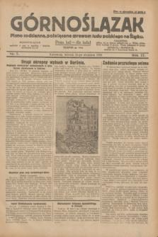 Górnoślązak : pismo codzienne, poświęcone sprawom ludu polskiego na Śląsku.R.27, nr 7 (10 stycznia 1928) + dod.
