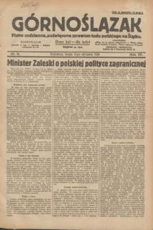 Górnoślązak : pismo codzienne, poświęcone sprawom ludu polskiego na Śląsku.R.27, nr 8 (11 stycznia 1928) + dod.
