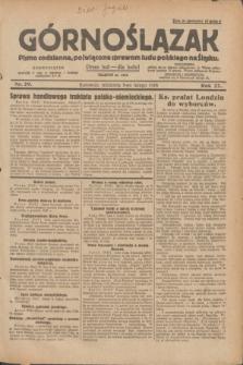Górnoślązak : pismo codzienne, poświęcone sprawom ludu polskiego na Śląsku.R.27, nr 29 (5 lutego 1928) + dod.
