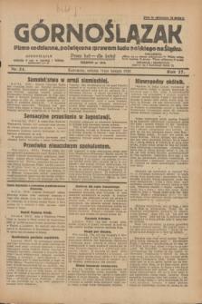 Górnoślązak : pismo codzienne, poświęcone sprawom ludu polskiego na Śląsku.R.27, nr 34 (11 lutego 1928) + dod.