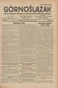 Górnoślązak : pismo codzienne, poświęcone sprawom ludu polskiego na Śląsku.R.27, nr 51 (2 marca 1928) + dod.