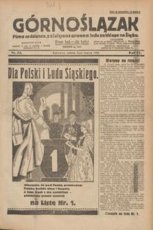Górnoślązak : pismo codzienne, poświęcone sprawom ludu polskiego na Śląsku.R.27, nr 52 (3 marca 1928) + dod.