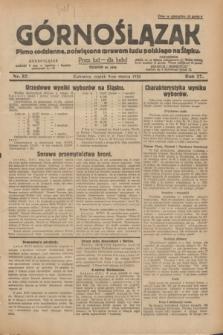Górnoślązak : pismo codzienne, poświęcone sprawom ludu polskiego na Śląsku.R.27, nr 57 (9 marca 1928) + dod.