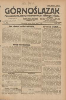 Górnoślązak : pismo codzienne, poświęcone sprawom ludu polskiego na Śląsku.R.27, nr 70 (24 marca 1928) + dod.