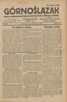Górnoślązak : pismo codzienne, poświęcone sprawom ludu polskiego na Śląsku.R.27, nr 73 (28 marca 1928) + dod.