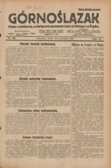 Górnoślązak : pismo codzienne, poświęcone sprawom ludu polskiego na Śląsku.R.27, nr 96 (25 kwietnia 1928) + dod.