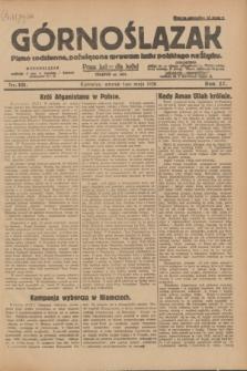 Górnoślązak : pismo codzienne, poświęcone sprawom ludu polskiego na Śląsku.R.27, nr 101 (1 maja 1928) + dod.
