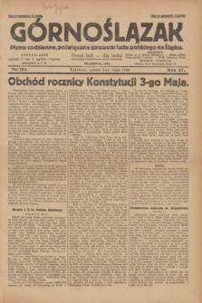 Górnoślązak : pismo codzienne, poświęcone sprawom ludu polskiego na Śląsku.R.27, nr 104 (5 maja 1928) + dod.