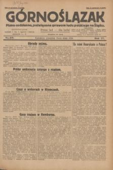 Górnoślązak : pismo codzienne, poświęcone sprawom ludu polskiego na Śląsku.R.27, nr 119 (24 maja 1928) + dod.