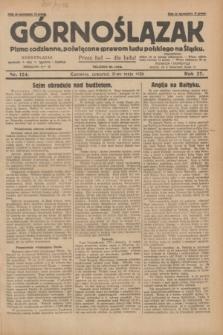 Górnoślązak : pismo codzienne, poświęcone sprawom ludu polskiego na Śląsku.R.27, nr 124 (31 maja 1928) + dod.