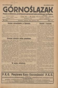 Górnoślązak : pismo codzienne, poświęcone sprawom ludu polskiego na Śląsku.R.27, nr 132 (10 czerwca 1928) + dod.