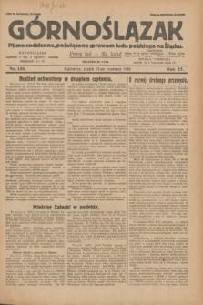 Górnoślązak : Pismo codzienne, poświęcone sprawom ludu polskiego na Śląsku.R.27, nr 136 (15 czerwca 1928) + dod.