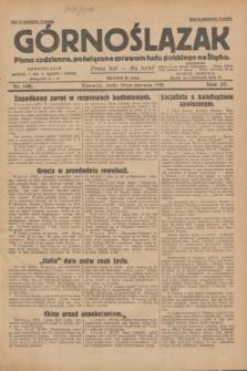 Górnoślązak : pismo codzienne, poświęcone sprawom ludu polskiego na Śląsku.R.27, nr 140 (20 czerwca 1928) + dod.