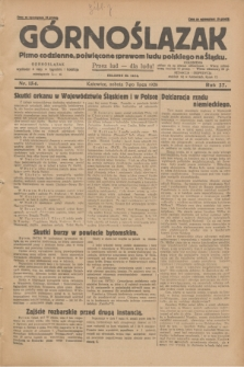 Górnoślązak : pismo codzienne, poświęcone sprawom ludu polskiego na Śląsku.R.27, nr 154 (7 lipca 1928) + dod.