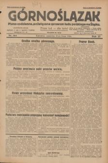 Górnoślązak : pismo codzienne, poświęcone sprawom ludu polskiego na Śląsku.R.27, nr 164 (19 lipca 1928) + dod.