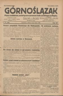 Górnoślązak : pismo codzienne, poświęcone sprawom ludu polskiego na Śląsku.R.27, nr 166 (21 lipca 1928) + dod.