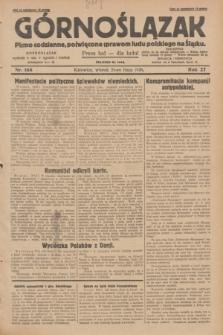 Górnoślązak : pismo codzienne, poświęcone sprawom ludu polskiego na Śląsku.R.27, nr 168 (24 lipca 1928) + dod.