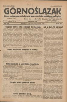Górnoślązak : pismo codzienne, poświęcone sprawom ludu polskiego na Śląsku.R.27, nr 176 (2 sierpnia 1928) + dod.