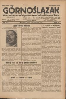 Górnoślązak : pismo codzienne, poświęcone sprawom ludu polskiego na Śląsku.R.27, nr 183 (10 sierpnia 1928) + dod.