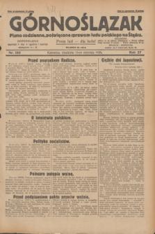 Górnoślązak : Pismo codzienne, poświęcone sprawom ludu polskiego na Śląsku.R.27, nr 185 (12 sierpnia 1928) + dod.