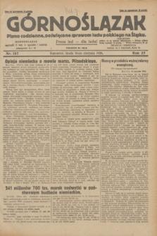 Górnoślązak : pismo codzienne, poświęcone sprawom ludu polskiego na Śląsku.R.27, nr 187 (15 sierpnia 1928) + dod.