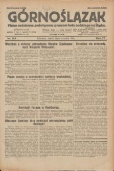 Górnoślązak : pismo codzienne, poświęcone sprawom ludu polskiego na Śląsku.R.27, nr 188 (17 sierpnia 1928) + dod.