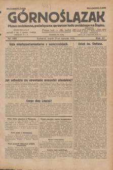 Górnoślązak : pismo codzienne, poświęcone sprawom ludu polskiego na Śląsku.R.27, nr 195 (23 sierpnia 1928) + dod.