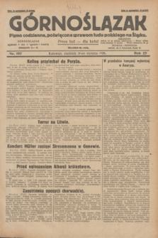 Górnoślązak : pismo codzienne, poświęcone sprawom ludu polskiego na Śląsku.R.27, nr 197 (26 sierpnia 1928) + dod.