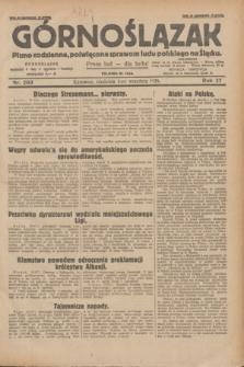 Górnoślązak : pismo codzienne, poświęcone sprawom ludu polskiego na Śląsku.R.27, nr 203 (2 września 1928) + dod.