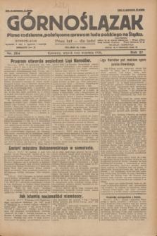 Górnoślązak : pismo codzienne, poświęcone sprawom ludu polskiego na Śląsku.R.27, nr 204 (4 września 1928) + dod.