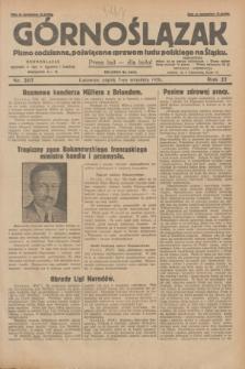 Górnoślązak : pismo codzienne, poświęcone sprawom ludu polskiego na Śląsku.R.27, nr 207 (7 września 1928) + dod.
