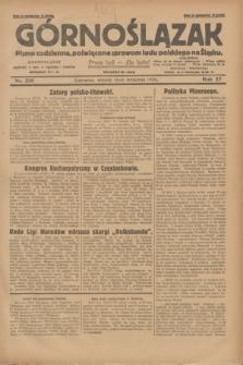 Górnoślązak : pismo codzienne, poświęcone sprawom ludu polskiego na Śląsku.R.27, nr 210 (11 września 1928) + dod.