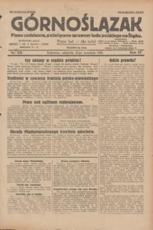 Górnoślązak : pismo codzienne, poświęcone sprawom ludu polskiego na Śląsku.R.27, nr 221 (23 września 1928) + dod.