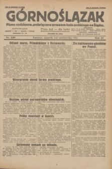 Górnoślązak : pismo codzienne, poświęcone sprawom ludu polskiego na Śląsku.R.27, nr 230 (4 października 1928) + dod.