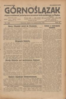 Górnoślązak : pismo codzienne, poświęcone sprawom ludu polskiego na Śląsku.R.27, nr 231 (5 października 1928) + dod.