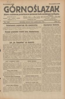 Górnoślązak : pismo codzienne, poświęcone sprawom ludu polskiego na Śląsku.R.27, nr 240 (16 października 1928) + dod.