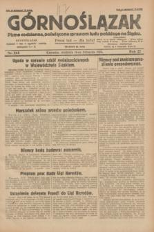 Górnoślązak : pismo codzienne, poświęcone sprawom ludu polskiego na Śląsku.R.27, nr 268 (18 listopada 1928) + [dod.]