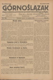 Górnoślązak : pismo codzienne, poświęcone sprawom ludu polskiego na Śląsku.R.27, nr 284 (7 grudnia 1928) + dod.