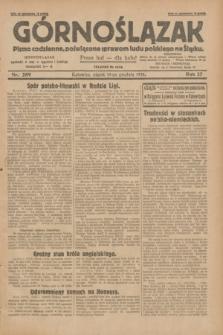 Górnoślązak : pismo codzienne, poświęcone sprawom ludu polskiego na Śląsku.R.27, nr 289 (14 grudnia 1928) + dod.