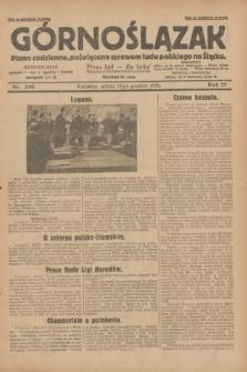 Górnoślązak : pismo codzienne, poświęcone sprawom ludu polskiego na Śląsku.R.27, nr 290 (15 grudnia 1928) + dod.