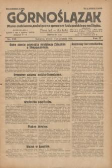 Górnoślązak : pismo codzienne, poświęcone sprawom ludu polskiego na Śląsku.R.27, nr 292 (18 grudnia 1928) + dod.