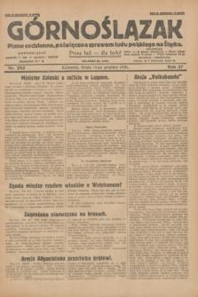 Górnoślązak : pismo codzienne, poświęcone sprawom ludu polskiego na Śląsku.R.27, nr 293 (19 grudnia 1928) + dod.