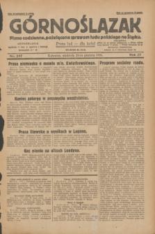 Górnoślązak : pismo codzienne, poświęcone sprawom ludu polskiego na Śląsku.R.27, nr 297 (23 grudnia 1928) + dod.