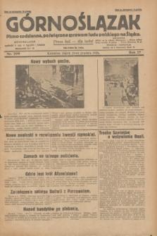 Górnoślązak : pismo codzienne, poświęcone sprawom ludu polskiego na Śląsku.R.27, nr 299 (28 grudnia 1928) + dod.