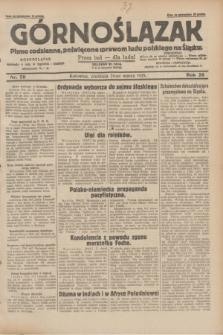 Górnoślązak : pismo codzienne, poświęcone sprawom ludu polskiego na Śląsku.R.28, nr 70 (24 marca 1929) + dod.