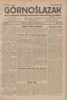 Górnoślązak : pismo codzienne, poświęcone sprawom ludu polskiego na Śląsku.R.28, nr 80 (6 kwietnia 1929) + dod.