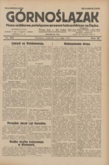 Górnoślązak : pismo codzienne, poświęcone sprawom ludu polskiego na Śląsku.R.28, nr 107 (9 maja 1929) + dod.